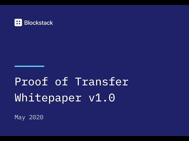 A Whitepaper Reading of PoX: Proof of Transfer Mining with Bitcoin